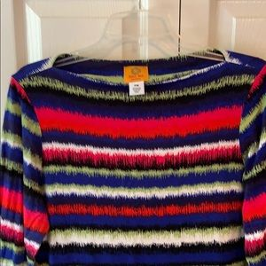 Ruby Rd. Tops - Ruby Rd. 3/4 sleeve casual top - PM - EUC